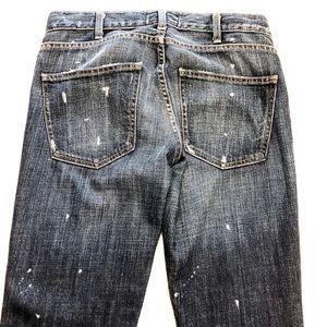 Current/Elliott Jeans - Current Elliott Maternity Distressed Skinny W126